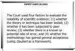 expert cases in ohio1