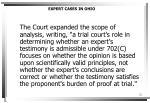 expert cases in ohio2