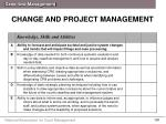 change and project management1