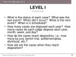 level i continued