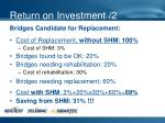 return on investment 2