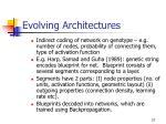 evolving architectures