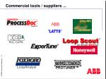 commercial tools suppliers