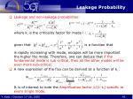 leakage probability1