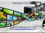 contact us 9818657705 9899700535 email corporatevideofilms@gmail com1
