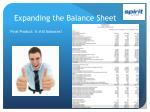 expanding the balance sheet2