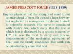 james prescott joule 1818 1889