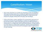 constitution vision