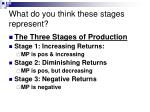 what do you think these stages represent