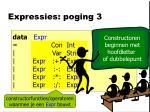 expressies poging 3