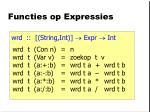 functies op expressies1
