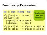 functies op expressies2
