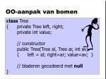 oo aanpak van bomen