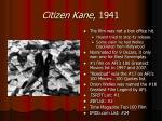 citizen kane 19411