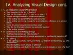 iv analyzing visual design cont