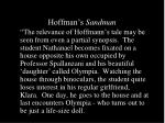hoffman s sandman