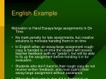 english example1