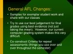 general afl changes2