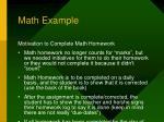 math example1