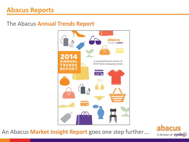 Abacus Reports