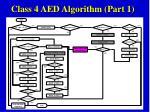 class 4 aed algorithm part 1
