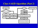 class 4 aed algorithm part 2