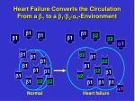 heart failure converts the circulation from a b 1 to a b 1 b 2 a 1 environment