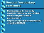 general vocabulary continued1