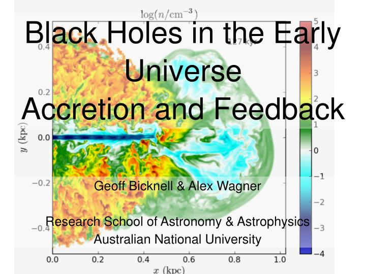 black holes in the early universe accretion and feedback n.