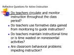 reflective questions for active instruction1