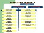 structure actuelle