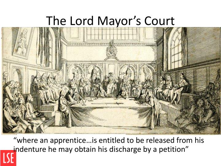 The Lord Mayor's Court