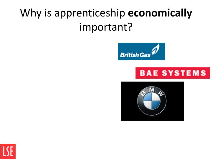 Why is apprenticeship
