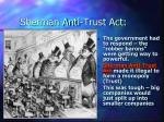 sherman anti trust act
