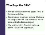 who pays the bills