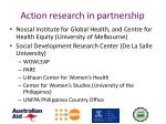 action research in partnership
