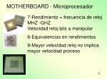 motherboard microprocesador1