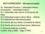 motherboard microprocesador2