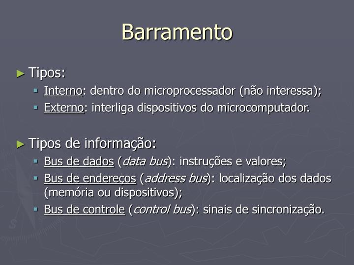 Barramento1