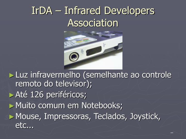 IrDA – Infrared Developers Association