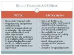senior financial aid officer1