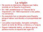 la religi n
