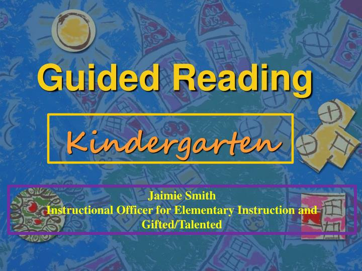 guided reading n.