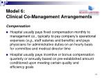 model 6 clinical co management arrangements2