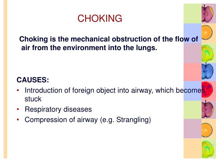 CHOKING