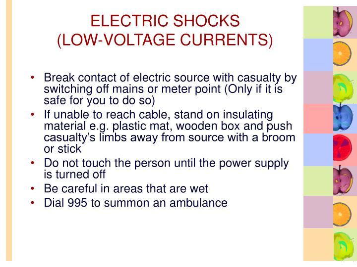 ELECTRIC SHOCKS