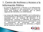 1 centro de archivos y acceso a la informaci n p blica