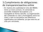 3 cumplimiento de obligaciones de transparenciaactiva online