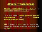 alanine transaminase1