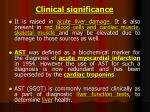 clinical significance1